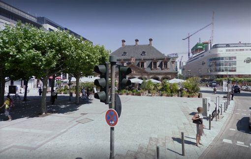 法蘭克福,地鐵,Hauptwache 圖/翻攝自Google地圖