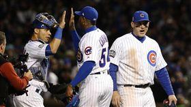 小熊Aroldis Chapman, Chicago Cubs(AP)