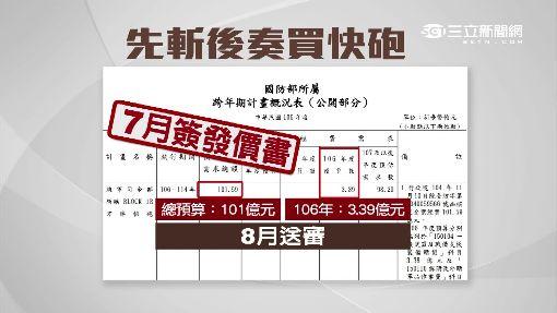 """沒預算就簽約! 國防部軍購""""先斬後奏""""挨批"""