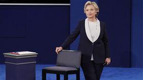 美國大選,川普,希拉蕊,辯論(圖/路透社)