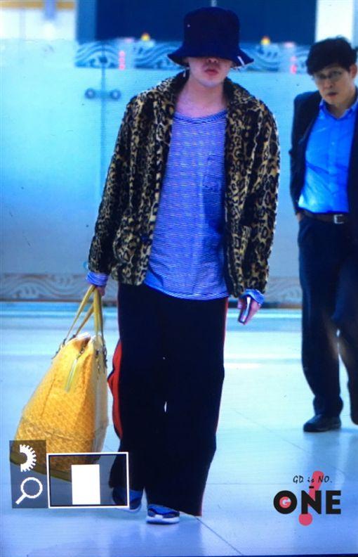 GD,G-Dragon,權志龍-翻攝自G-ONE权志龙中国个站微博