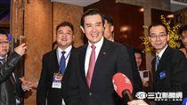 前總統馬英九 圖/記者林敬旻攝