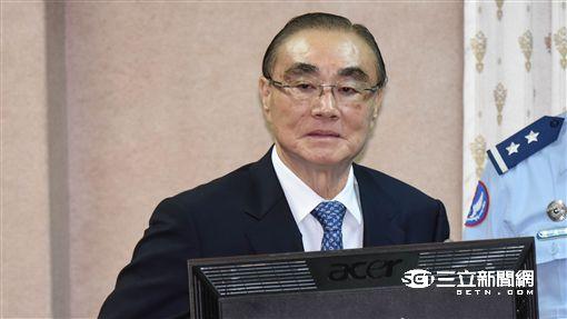 國防部長馮世寬 圖/記者林敬旻攝