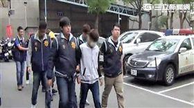 警方以車追人帶回7名飆仔,訊後依社維法裁罰(翻攝畫面)
