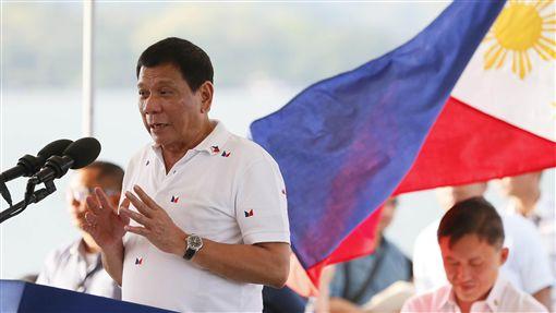 菲律賓總統杜特蒂_美聯社
