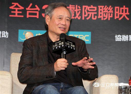 《比利林恩的中場戰事》李安、李淳、喬歐文舉辦亞洲首映記者會。圖/記者邱榮吉攝影