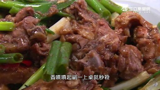 米血拌炒當歸鴨肉 不鹹不辣入味