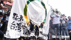 2016工人鬥總統絕食抗議勞基法一例一休,強砍七天假 圖/記者林敬旻攝影