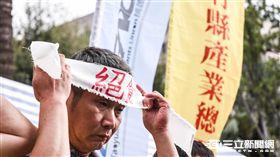 2016工人鬥總統絕食抗議勞基法一例一休,強砍七天假,工鬥, 圖/記者林敬旻攝影