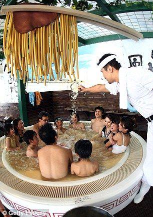 日本箱根「小涌園溫泉樂園」 圖/翻攝自《每日郵報》