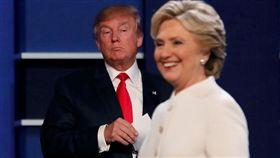 美國,大選,總統,候選人,川普,希拉蕊/圖/路透社/達志影像