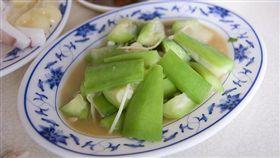 絲瓜吃起來有苦味。(圖/flickr CC授權/作者Da-Eye/網址http://bit.ly/2fIqPdj)
