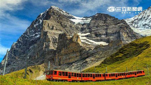 瑞士小火車。(圖/旅行酒吧提供)