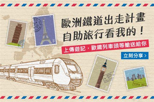 「歐洲鐵道出走計畫 自助旅行看我的」徵文活動。(圖/旅行酒吧提供)