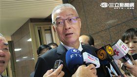 前副總統吳敦義。(記者盧素梅攝)