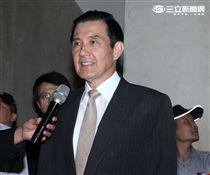 前總統馬英九因被民進黨立委柯建銘指控洩密,以被告身分親自到台北地院出庭。(記者邱榮吉/攝影)