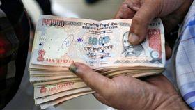 印度1000盧比_路透