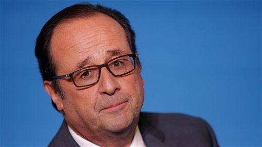 法國總統歐蘭德(Francois Hollande)(圖/路透社/達志影像)