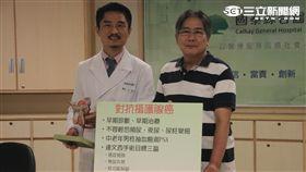62歲的郭先生以達文西微創手術治療攝護腺癌,術後無尿失禁後遺症的發生。(圖/國泰醫院提供)