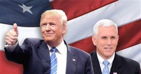 川普,美國總統大選,Donald Trump,邁克彭斯,Mike Pence/臉書