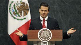 墨西哥,潘尼亞尼托,Enrique Pena Nieto(圖/美聯社/達志影像)16:9