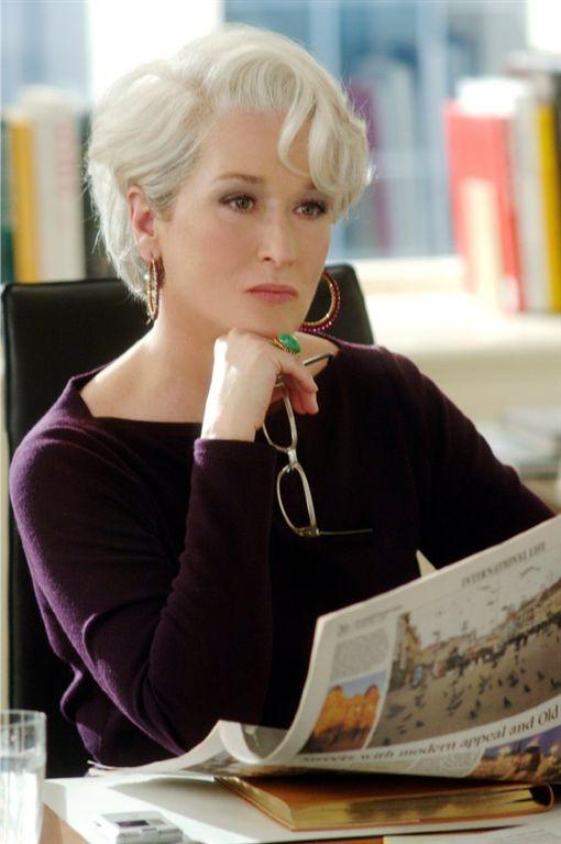 穿著Prada的惡魔,米蘭達,梅莉史翠普(圖/翻攝自IMDb)