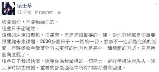 梁士華、謝欣穎/臉書