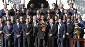 歐巴馬,騎士隊造訪白宮(ap)