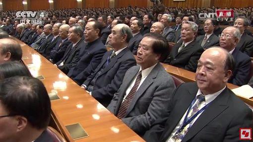 吳斯懷出席中國紀念孫中山活動,聆聽習近平談話(圖/翻攝自YouTube)