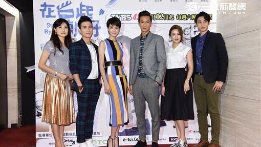 戲劇《在一起,就好》首映,主要演員曾沛慈、鍾承翰、陳彥允、陳艾熙、章廣辰、方季惟盛裝出席觀影