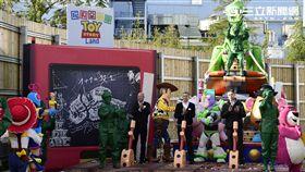 上海迪士尼玩具總動員園區。(圖/上海迪士尼提供)