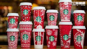 星巴克耶誕節紅杯,聖誕節。(圖/星巴克提供)