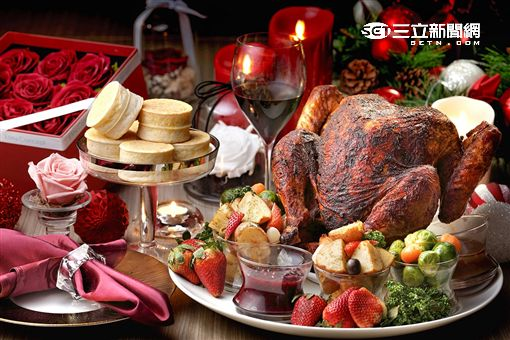感恩節火雞大餐。(圖/公關照)