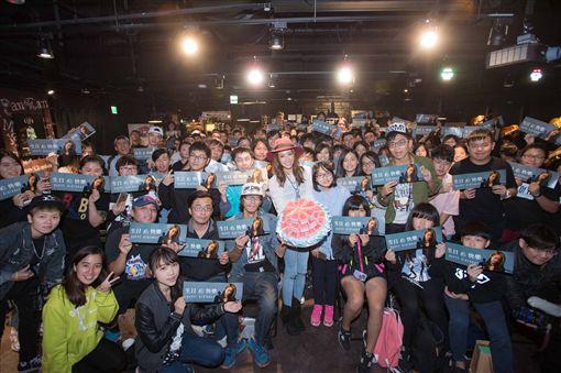 20161114袁詠琳辦私密慶生會 小鮮肉助陣同歡 圖/杰威爾音樂提供