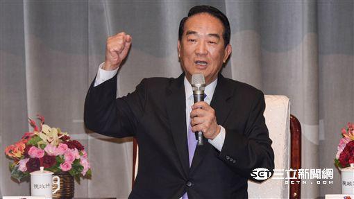 APEC特使宋楚瑜 圖/記者林敬旻攝