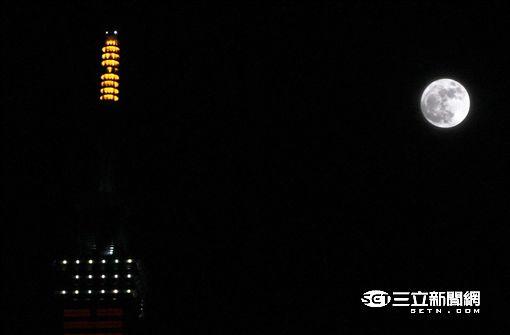 超級月亮,滿月,賞月,運勢