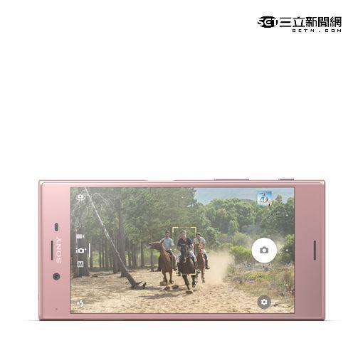 時尚焦點 Xperia XZ推新色「山茶花粉」