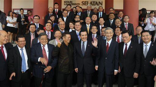 馬英九,南方大學,演講,南向政策,馬來西亞,經濟,出口(中央社)