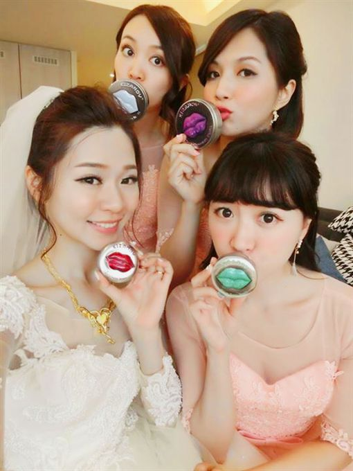 婚禮,禮物,時尚,Kizandy,護唇膏,糖果,巧克力(廠商提供)