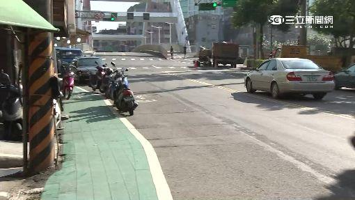 停汽車道不罰?「綠人行道」畫白線爆亂象