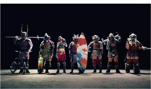 日清,泡麵,武士文化,日本文化,極限運動,七武士 圖/翻攝自YouTube