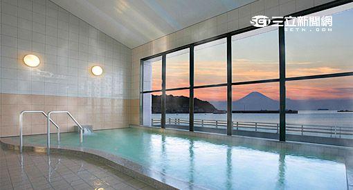 日本十大擁有落日絕景的旅館。(圖/樂天旅遊提供)