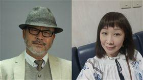 資深演員班鐵翔與作家香娜。(合成圖/翻攝自班鐵翔、香娜臉書)
