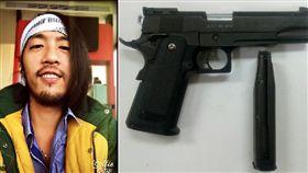 打過林俊傑!饒舌歌手陳彥衡再嗆頑童 夜店持玩具槍毆人 陳彥衡臉書、中央社