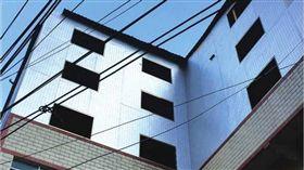 違建,違章建築,大陸,貴州,磁磚,紙片房 圖/翻攝自網易新聞