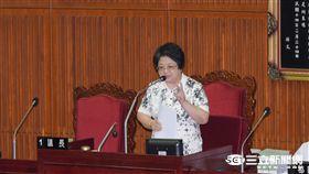 台北市議會議長吳碧珠 圖/記者林敬旻攝