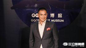 陳金鋒出席GQ頒獎典禮(圖/記者林敬旻攝)