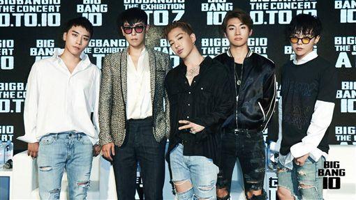 20161119BIGBANG!韓流天團宣布回歸 圖/翻攝自BIGBANG臉書專頁