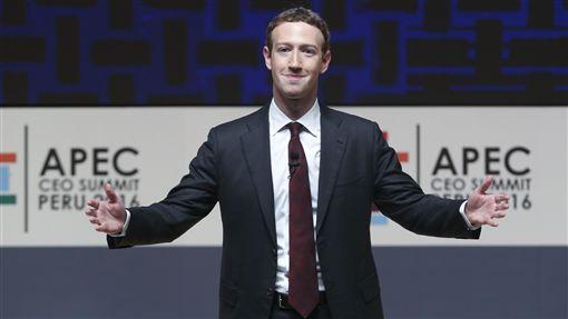 -祖克柏-Mark Zuckerberg-臉書-Facebook-圖/美聯社