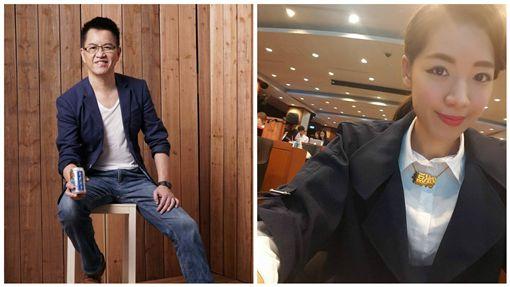 相差24歲!劉伊心升格當董娘 明年4月下嫁戈偉如前夫 圖/翻攝自劉伊心臉書、林志隆臉書